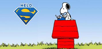 Bild zu:  Eindeutig mehr als nur ein Hund: Snoopy