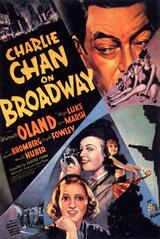 Charlie Chan am Broadway - Poster