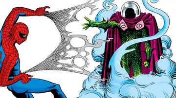 Spider-Man vs Mysterio in The Amazing Spider-Man Nr. 13