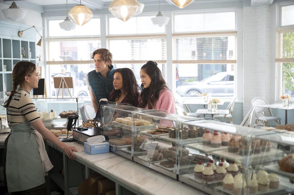 You - Du wirst mich lieben, You - Du wirst mich lieben - Staffel 3 mit Victoria Pedretti, Shalita Grant, Christopher O'Shea und Shannon Chan-Kent