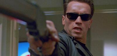 Arnold Schwarzenegger in Terminator 2 - Tag der Abrechnung