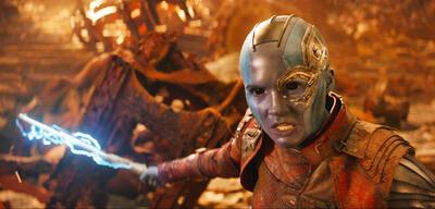Nebula in Avengers 3: Infinity War