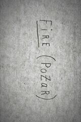 Fire (Pożar) - Poster