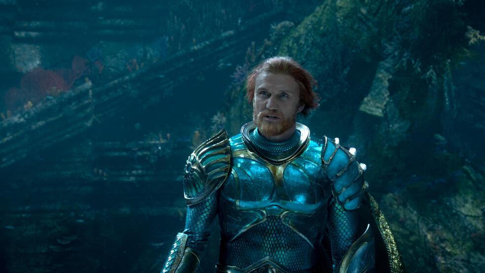 Aquaman mit Dolph Lundgren