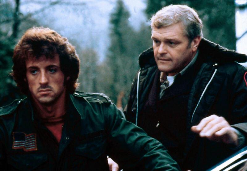 Rambo mit Sylvester Stallone und Brian Dennehy