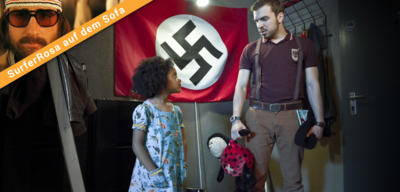 Neonazi Thomas Braun mit Lara