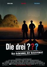 Die drei ??? und das Geheimnis der Geisterinsel - Poster
