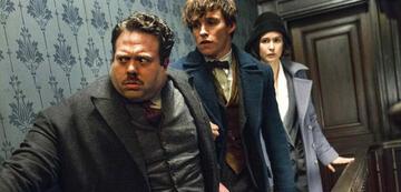 Jacob, Newt und Tina in Phantastische Tierwesen 1