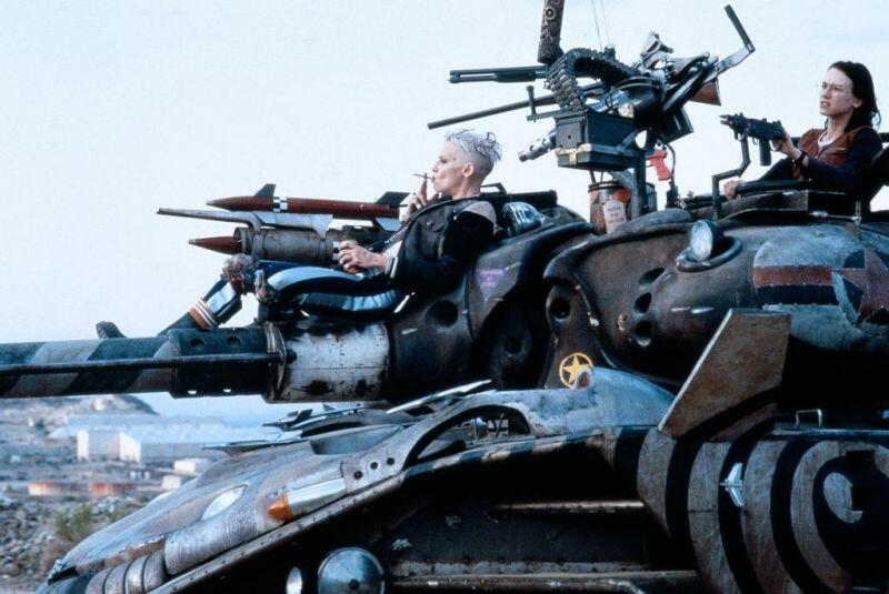 Tank Girl mit Lori Petty