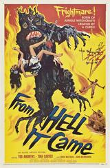 From Hell It Came - Poster