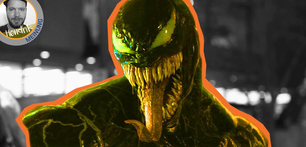 Marvels Venom mit Tom Hardy