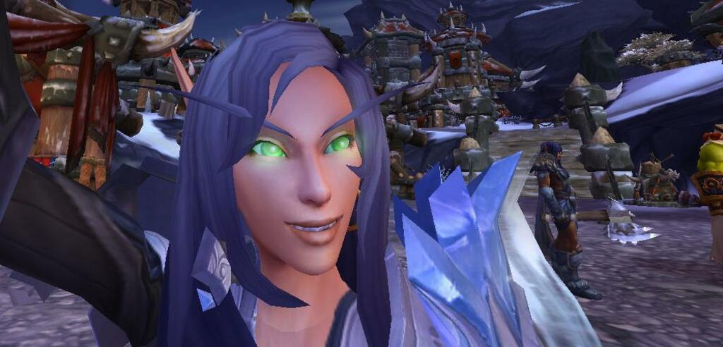 Selfies in World of Warcraft