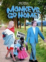Schmeißt die Affen raus - Poster