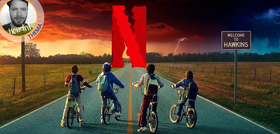 Eine der erfolgreichsten Netflix-Serien: Stranger Things