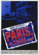 Paris, Texas - Poster