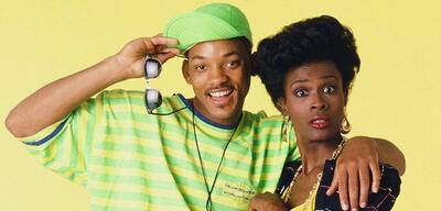 Will Smith und Janet Hubert in Der Prinz von Bel-Air