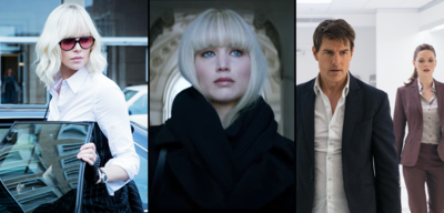Atomic Blonde, Red Sparrow,Mission: Impossible 6 - Fallout