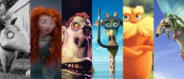 Animationsfilme 2012
