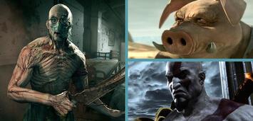 Bild zu:  Outlast / Beyond Good & Evil 2 / God of War 3