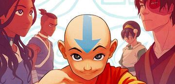 Aang und seine Freunde