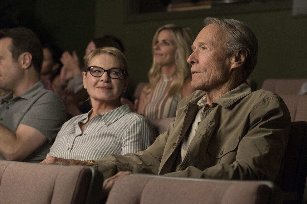 The Mule mit Clint Eastwood und Dianne Wiest