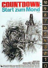 Countdown - Start zum Mond - Poster