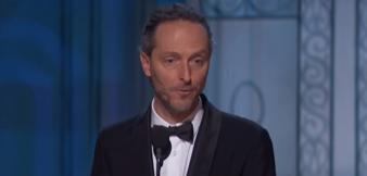 Lubezki bei seiner Dankesrede bei den 87. Oscars