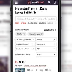 Die besten Filme mit Keanu Reeves bei Netflix