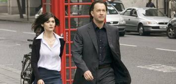 Bild zu:  Tom Hanks mit Audrey Tautou in The Da Vinci Code - Sakrileg