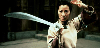 Michelle Yeoh in Tiger & Dragon