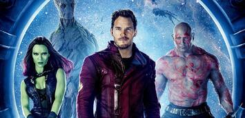 Bild zu:  Die Guardians of the Galaxy (Rocket fehlt)