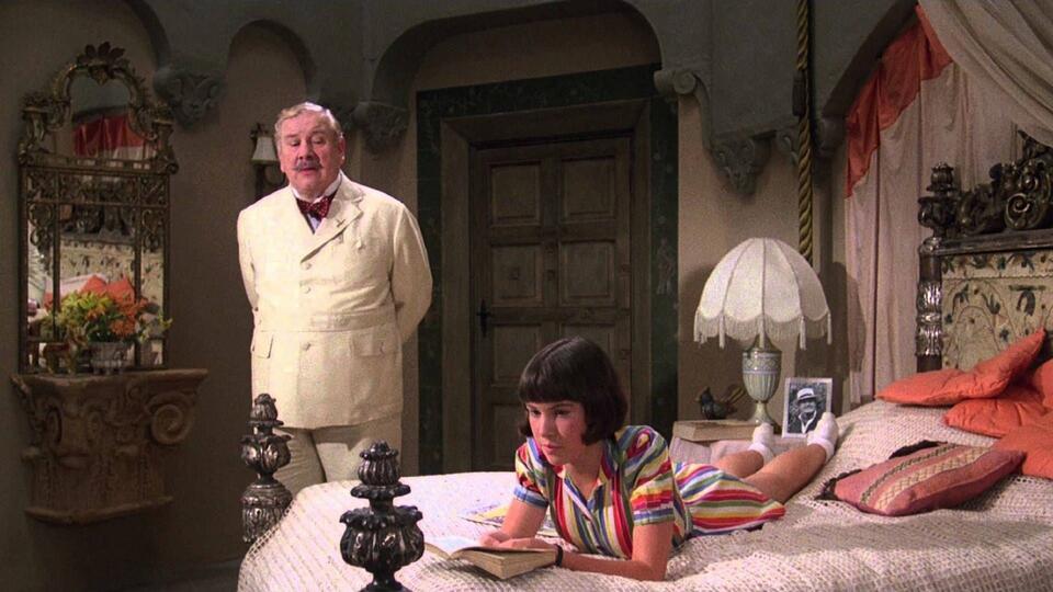 Das Böse unter der Sonne mit Peter Ustinov und Jane Birkin