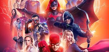 Die Arrowverse-Helden in Crisis on Infinite Earths