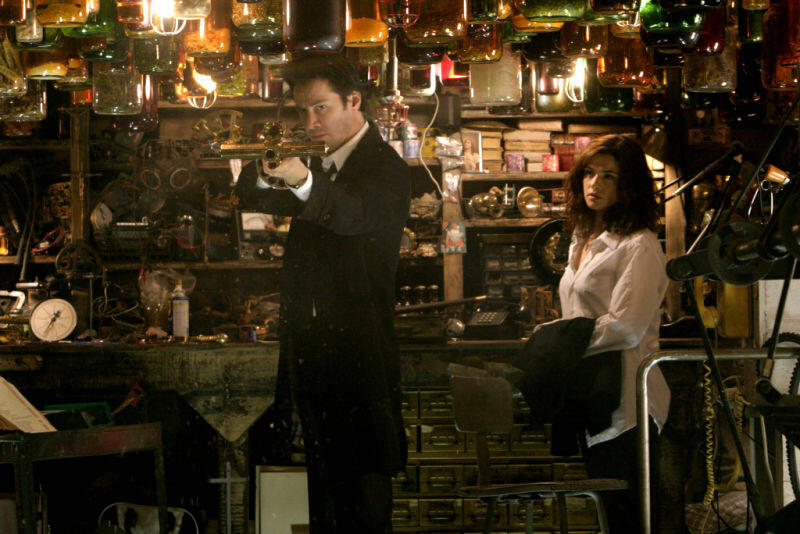 Constantine mit Keanu Reeves und Rachel Weisz