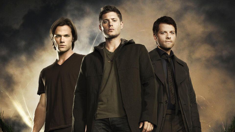 Supernatural mit Jensen Ackles, Misha Collins und Jared Durand
