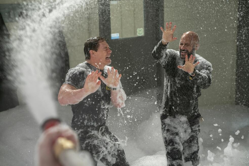 Chaos auf der Feuerwache mit John Cena und Keegan-Michael Key