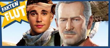 Justin Bieber als Nathan Drake?