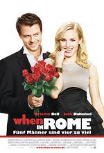 When in Rome - Fünf Männer sind vier zu viel Poster