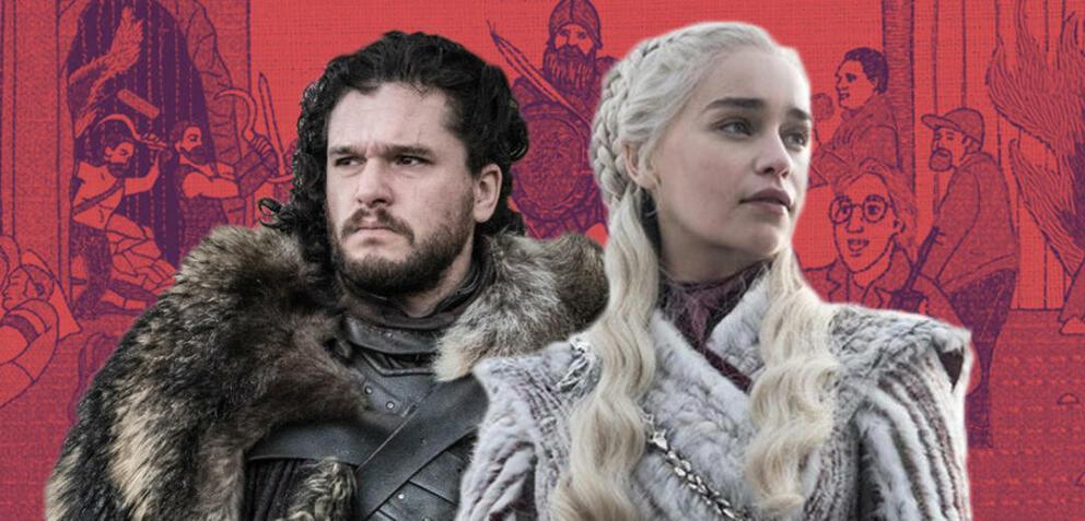 Jon Schnee und Daenerys