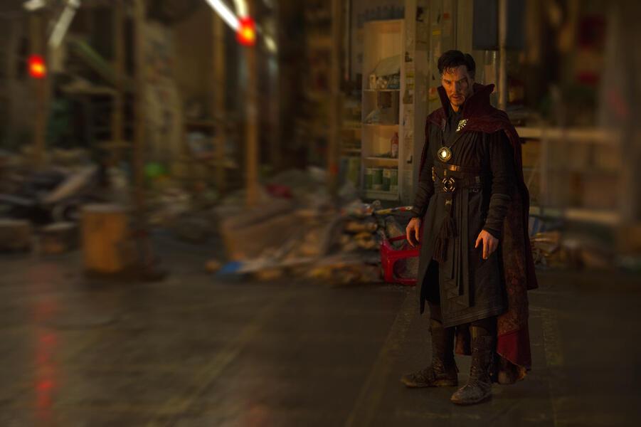 Doctor Strange mit Benedict Cumberbatch
