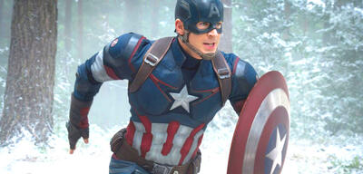Chris Evans als Captain America