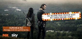 Ab zur Walking Dead Preview Night