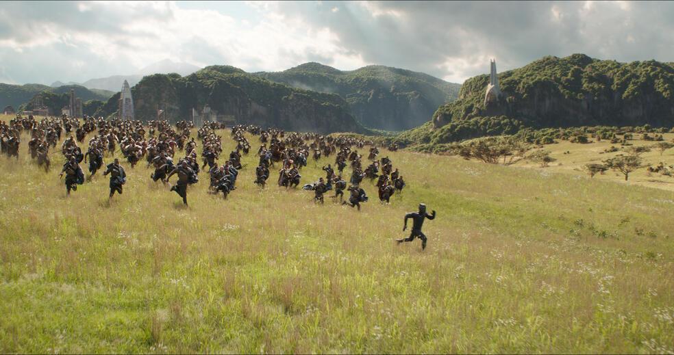 Avengers 3: Infinity War mit Chadwick Boseman