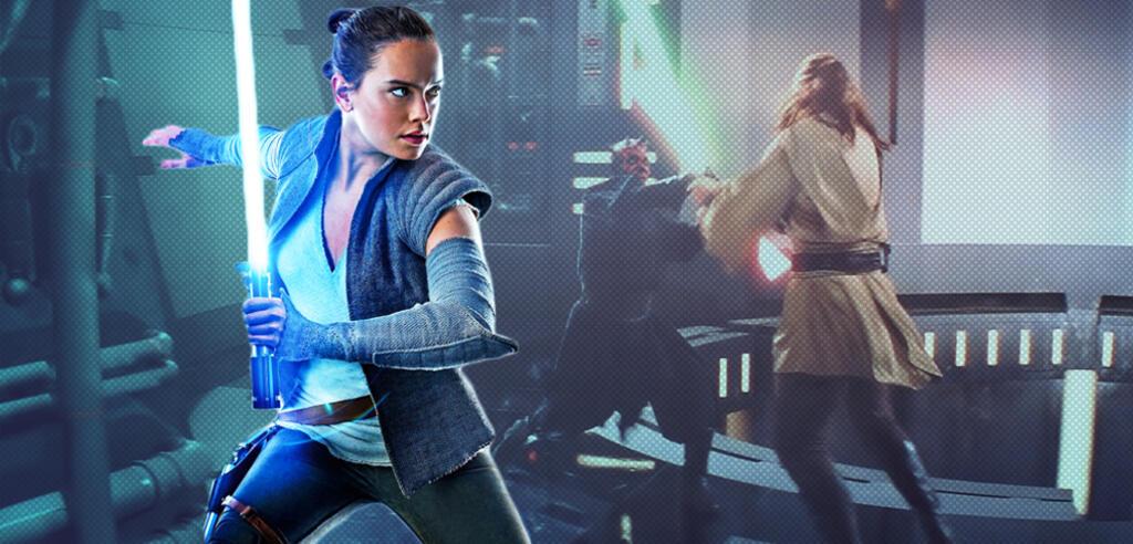 Star Wars: Rey, Darth Maul und Qui-Gon Jinn