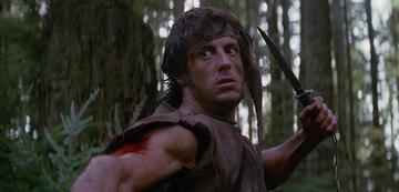 Noch mehr PTSD-Drama als brachiales Schlachtfest: Rambo (1982)