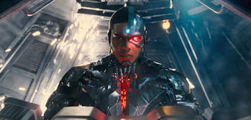 Ray Fisher als Cyborg in Justice League