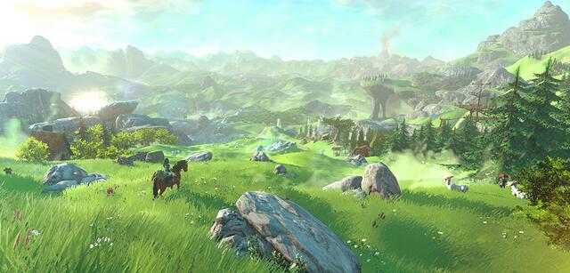 Das neue Zelda wird nicht nur hübsch