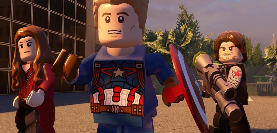 Captain America, Scarlet Witch und der Wintersoldier