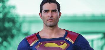 Bild zu:  Tyler Hoechlin als Superman im Arrowverse