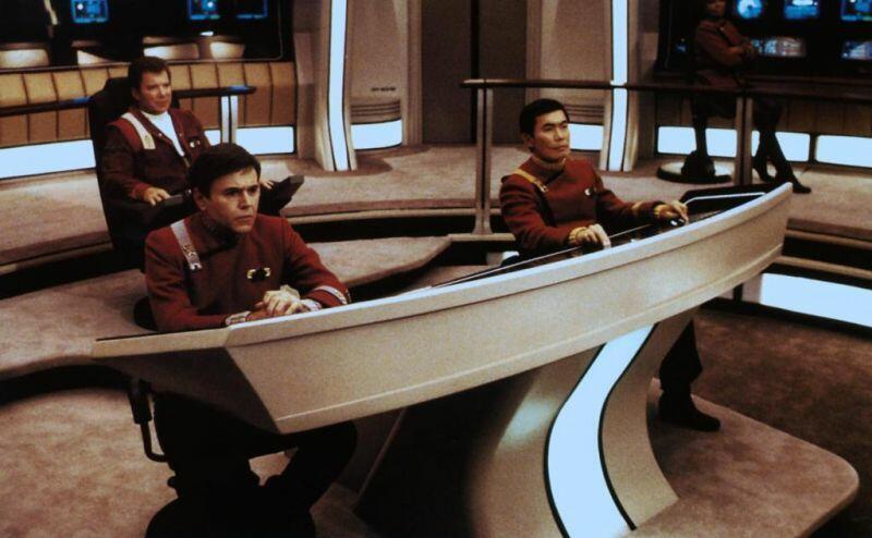 Star Trek V - Am Rande des Universums mit William Shatner, George Takei und Walter Koenig